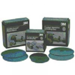 "3M 6"" GREEN CORPS STIKIT PRODUCTION RESIN BOND DISCS"