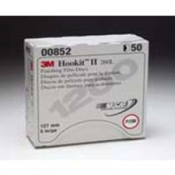 "3M 5"" HOOKIT II FINISHING FILM DISCS"